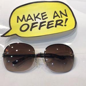 Prada Rectangle Sunglasses.SPR53N 63-16 1BC 6S1